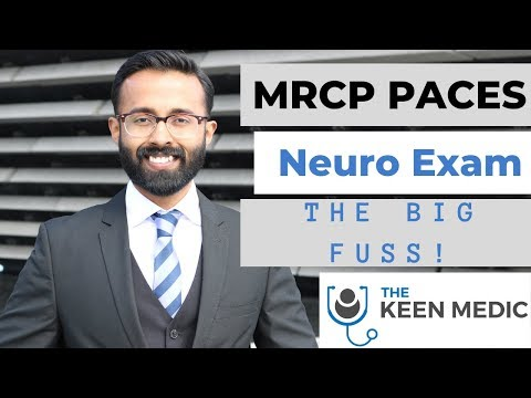 MRCP PACES Neurology Examination The Big Fuss About Localising!