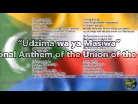 Comoros National Anthem with vocal and lyrics Comorian w/English Translation