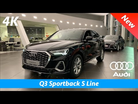 Audi Q3 Sportback 2020 (S Line) - FIRST Quick Look In 4K | Interior - Exterior (Day & Night)