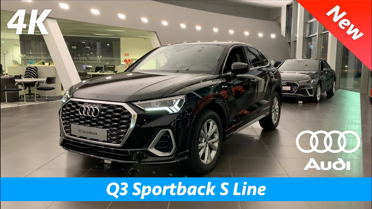 Audi Q3 Sportback 2020 S Line First Quick Look In 4k Interior Exterior Day Night Youtube