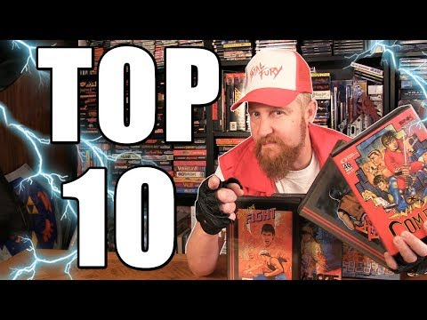 TOP 10 NEO GEO GAMES - Happy Console Gamer