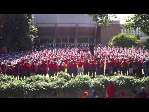 Nebraska Marching Band Pre-Game Concert Warm Up Chord Progression