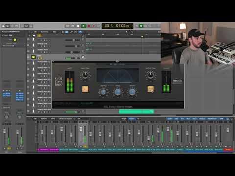 SSL Fusion Stereo Image Plug-in X Sean Divine