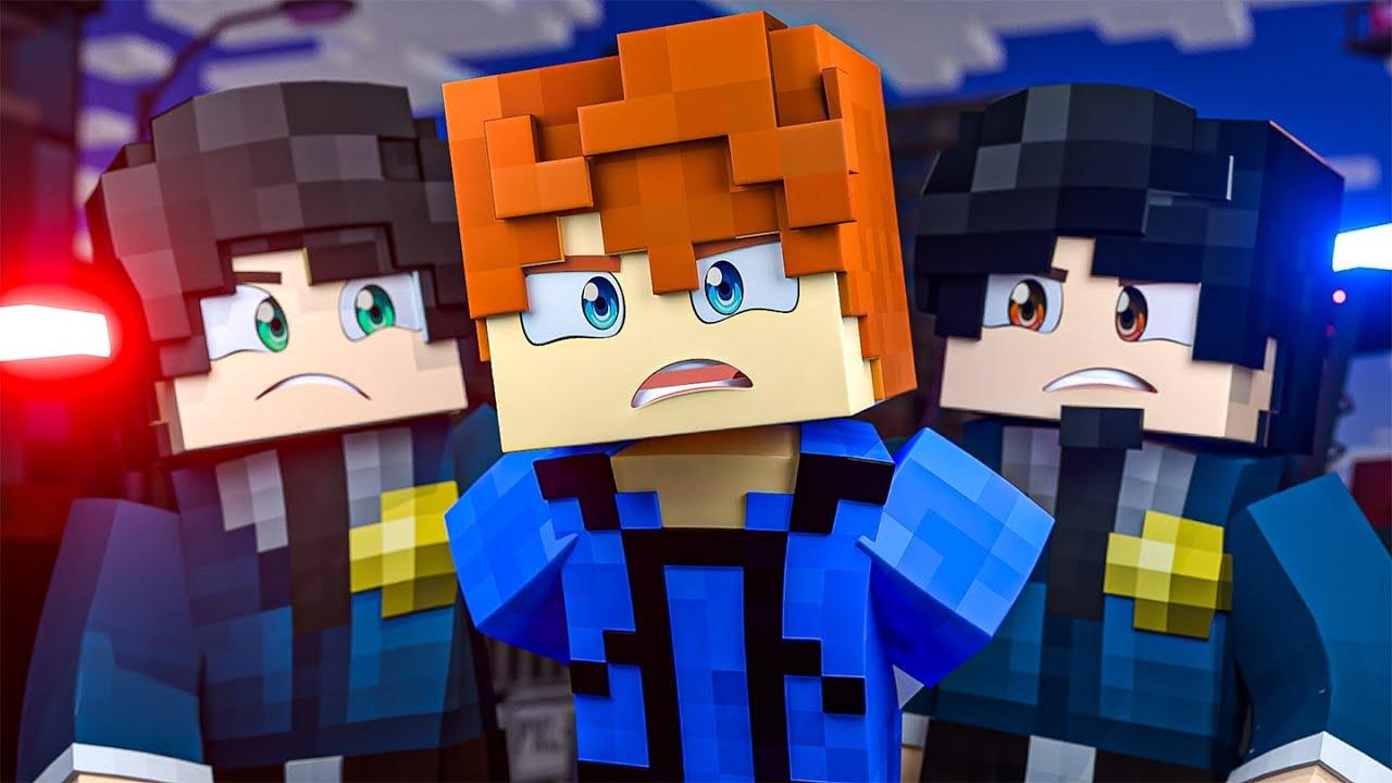 I'M GOING TO JAIL !? - Minecraft Academy