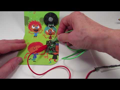 Musical Greeting Card Circuit Bending