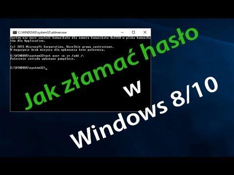 Jak Złamać Hasło W Windows 8 8110