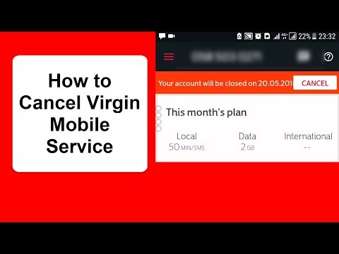 how to Cancel Virgin Mobile SIM Account in UAE