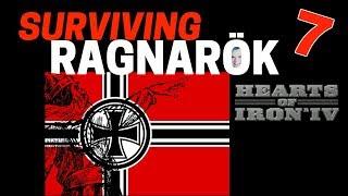 Hearts of Iron 4 - Challenge Survive Ragnarok! - Germany VS World  - Part 7