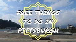 FREE THINGS TO DO IN PITTSBURGH | USA TRAVEL VLOG