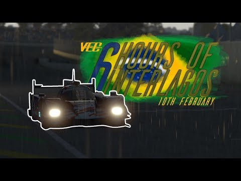 rFactor 2 | VEC: Round 5 - 6h of Interlagos GNS ONBOARD #132 Division 3