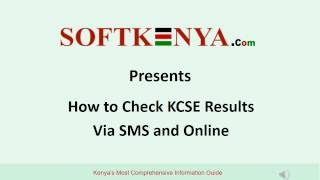 How to Check KCSE Results via SMS and Online