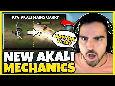 """HOW DID I NOT KNOW ABOUT THIS?! Reacting to """"Akali Tips & Tricks [Pro Analysis] By LoL Analyst"""