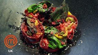 Italian Octopus Dish & Beetroot Tortelli   MasterChef UK   MasterChef World