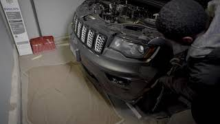 2019 Jeep Grand Cherokee Black Grill Installation (LOOKS MUCH BETTER!)