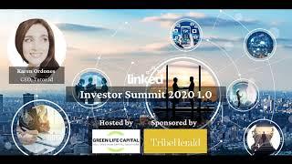 Presenting Company Tutor.id Karen Ordones, CEO at at Linked Ventures Investor Summit