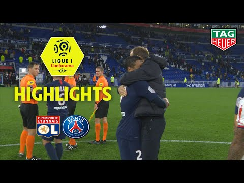 Olympique Lyonnais - Paris Saint-Germain ( 0-1 ) - Highlights - (OL - PARIS) / 2019-20