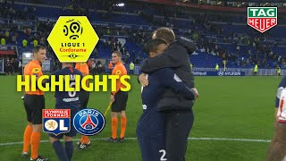 Olympique Lyonnais - Paris Saint-Germain ( 0-1 ) - Highlights - (OL - PARIS) / 2019-20