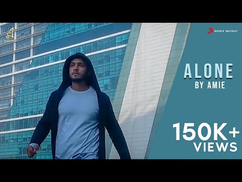 ALONE | AMIE | Official Music Video | Music by YAWAR | 2017