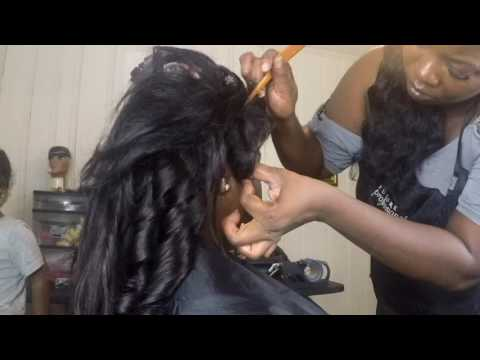 Lace Frontal With Cling Adhesive Youtube