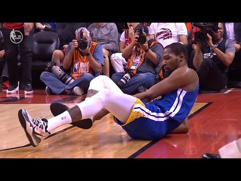 kevin-durant-achilles-injury---game-5-|-warriors-vs-raptors-|-2019-nba-finals