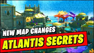 *NEW* Fortnite ATLANTIS UPDATE Map Changes - NEW ATLANTIS LOCATION & SECRETS, GLITCHES