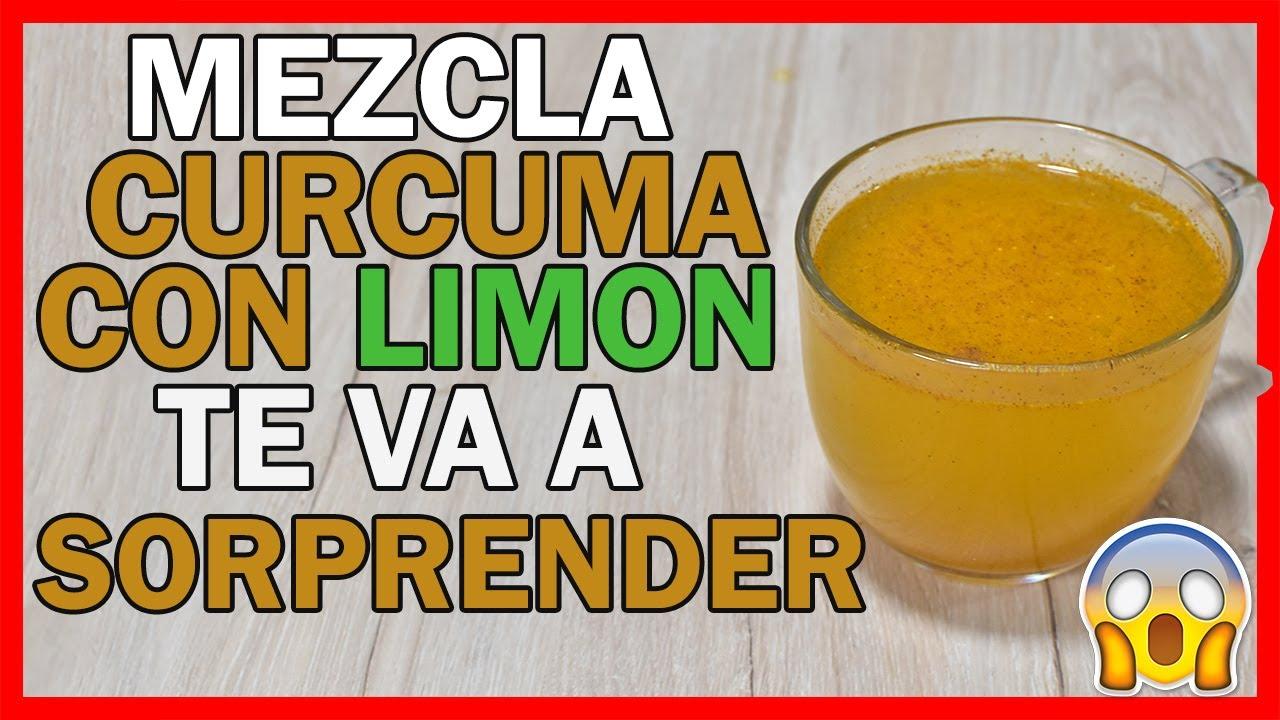 Mezcla Cúrcuma con Limón y tus amigos van a sorprender de sus Resultados!