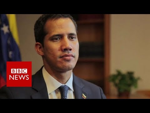 Guaidó: We want genuinely free elections in Venezuela - BBC News