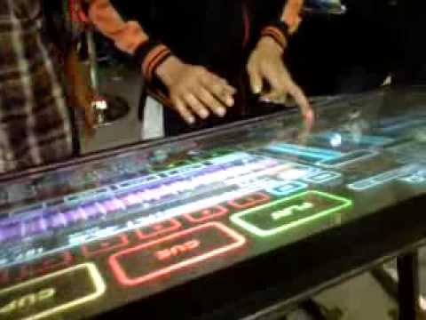 Holodeck Virtual Mulouch Screen Dj Table Mbc