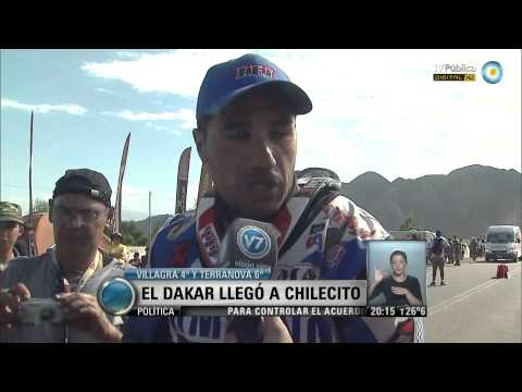 Visión 7: El Dakar llegó a Chilecito
