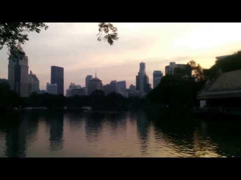 Bangkok - Lumpini Park at Dusk