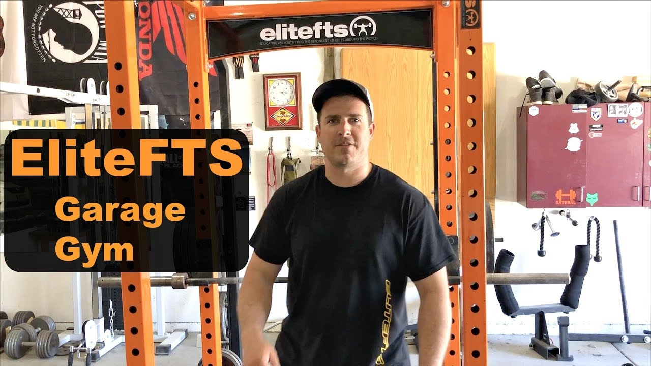 Elitefts garage gym update t&t barbell youtube
