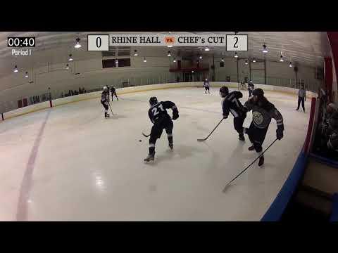 Chefs Cut vs. Rhine Hall, 11/12/2017, Louisville Kentucky Beer League Hockey