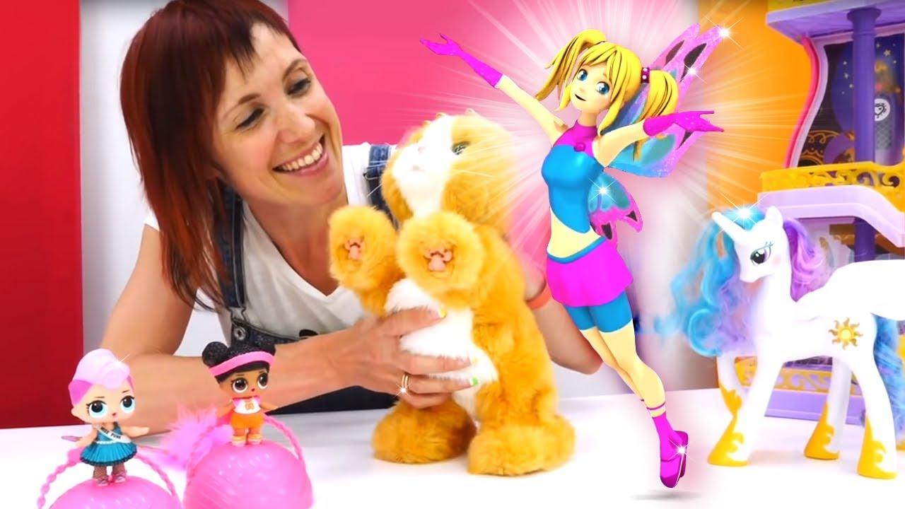 Маша Капуки и фея Мими - все серии с Барби и Эмили. - YouTube