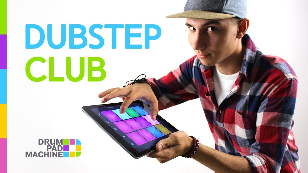 dubstep club by andy brookes drum pad machine youtube. Black Bedroom Furniture Sets. Home Design Ideas