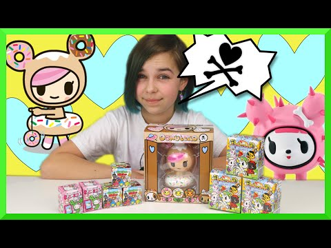 Tokidoki Surprise Blind Box Unboxing Mania - Donutella, Unicornos and Frenzies Opening