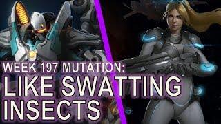 Starcraft II: Like Swatting Insects [Mass Robo]