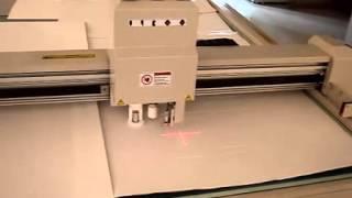 carton box sample maker cutter plotter cutting machine