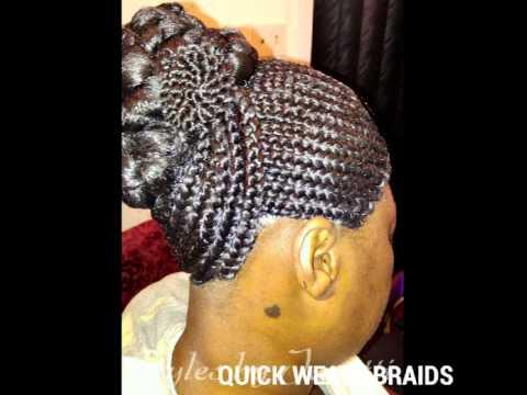 quick weave braids