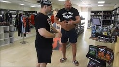 Jason Genova and Big Lenny at House of nutrition opening, Jasons opinion on PJ | Ric Flairening edit