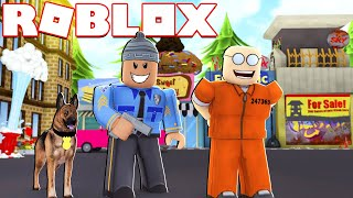 MY DOG ARRESTED CRIMINALS l MadCity Roblox
