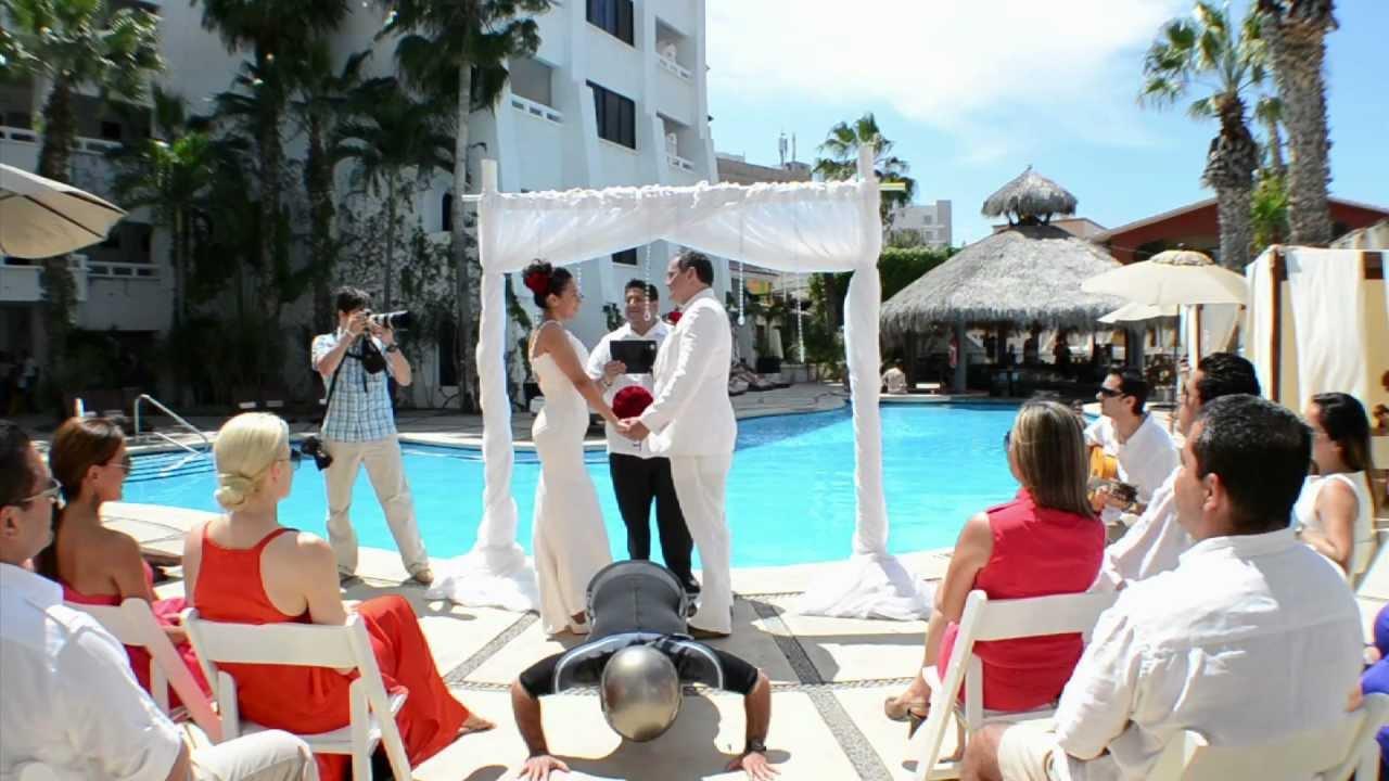 Harlem Shake Wedding Edition Bahia Hotel Beach Club Cabo San Lucas Los Cabos Mexico