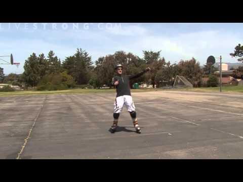 Cách trượt patin cơ bản 2 - Làm thế nào để giữ thăng bằng
