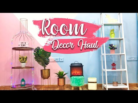 ROOM DECOR HAUL! SHEIN, Amazon, Myntra, Home Centre *COMPLETE BUDGET TRANSFORMATION* Ep2 | Heli Ved
