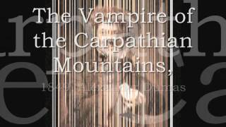 Best Vampire Stories 1800-1849 Book Trailer