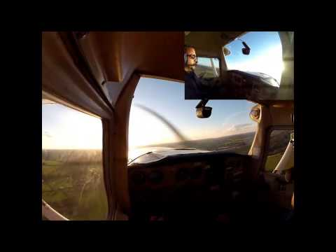 First full hour's solo flight - Coventry Airport