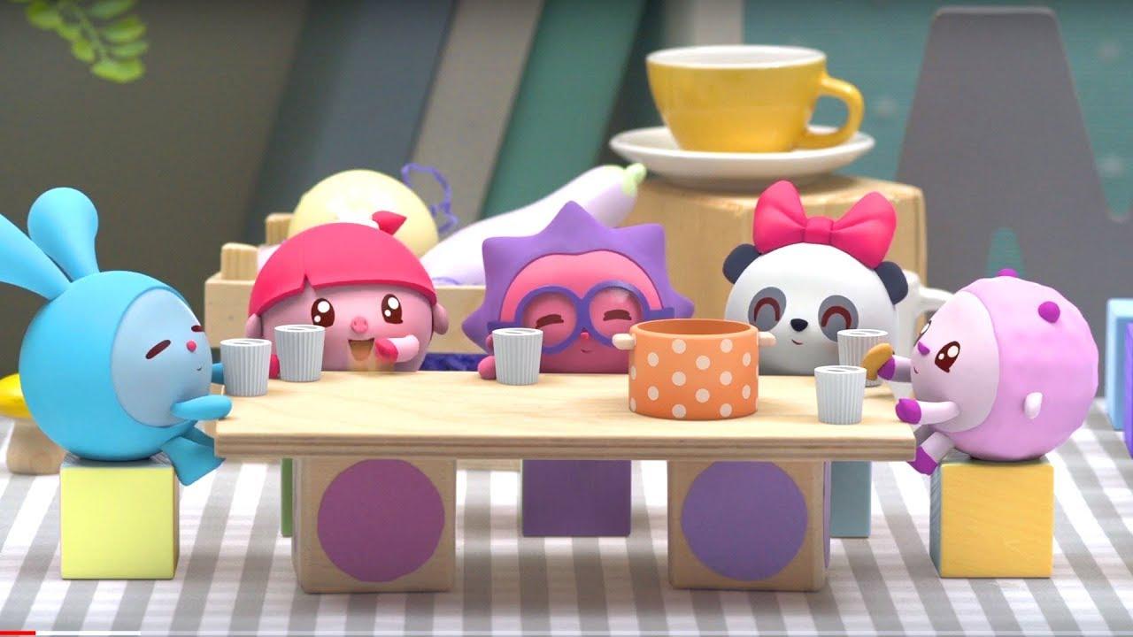 Малышарики - новые серии - Хорошая игра (158 серия) Сборник удивительных серий