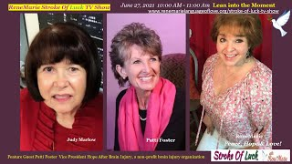 Lean into the Moment -June 27, 2021 10:00 AM - 11:00 Am -  ReneMarie Stroke Of Luck TV Show