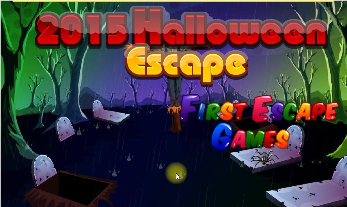 2015 Halloween Escape Walkthrough First Escape Games