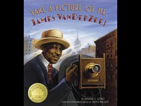 Take A Picture Of Me, James Van Der Zee!, By Andrea J. Loney (MPL Book Trailer #411)