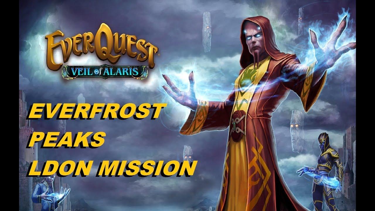 LET'S PLAY EVERQUEST - Everfrost peak LDoN mission (1080p)